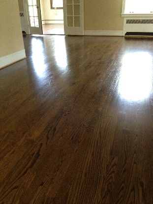 Red Oak With Jacobean Stain Kashian Bros Carpet And