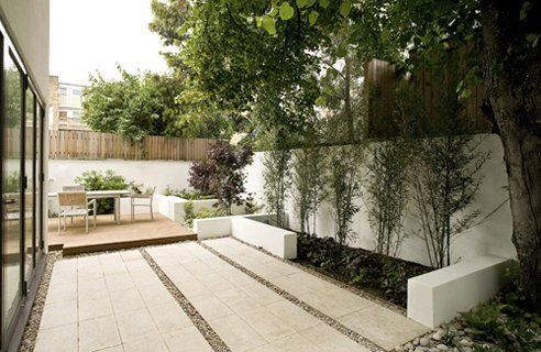 Simple Modern Garden Design Ideas Small Urban Garden Urban