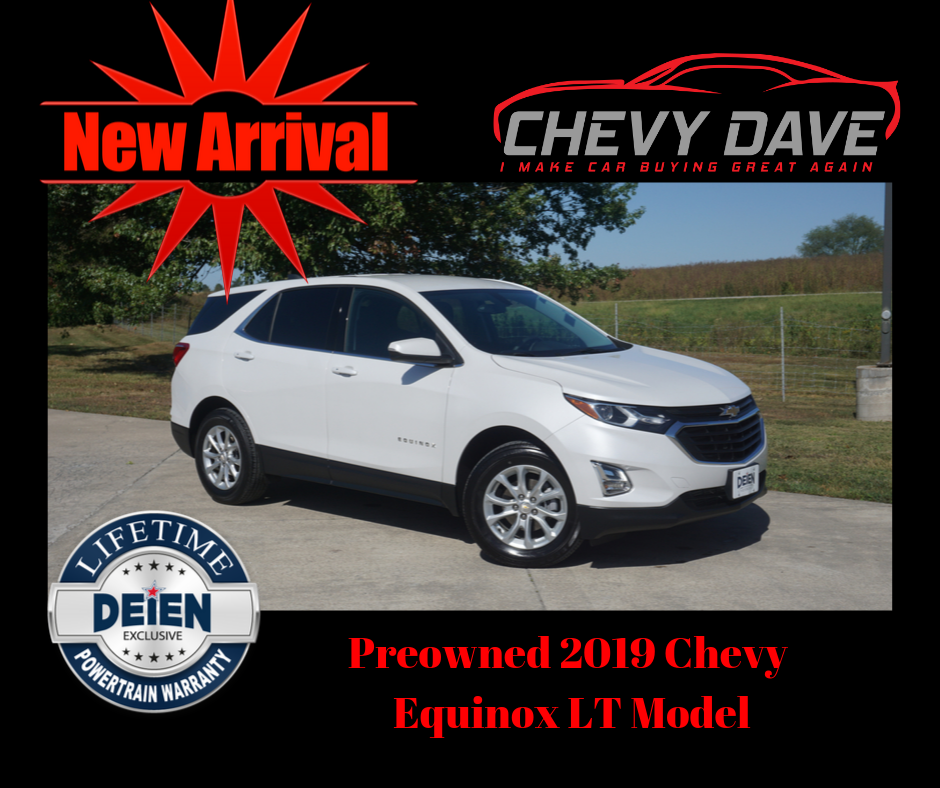 New Arrival 2019 Chevy Equinox Lt Model Like New With 20k