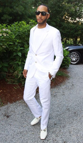 Men S Style Inspiration What To Wear To An All White Party White Outfit For Men All White Mens Outfit All White Outfit