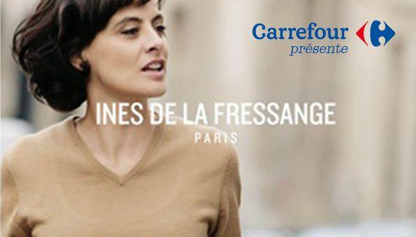 Collection bijoux Ines de la Fressange à ,70% chez Carrefour. Faites vos  courses à prix réduits sur tout et tout le temps avec bit.ly/1u1rRlL