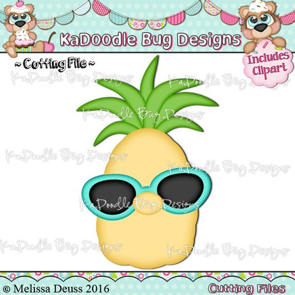 Cool Pineapple | Clip art, Cool stuff, Crafts for kids