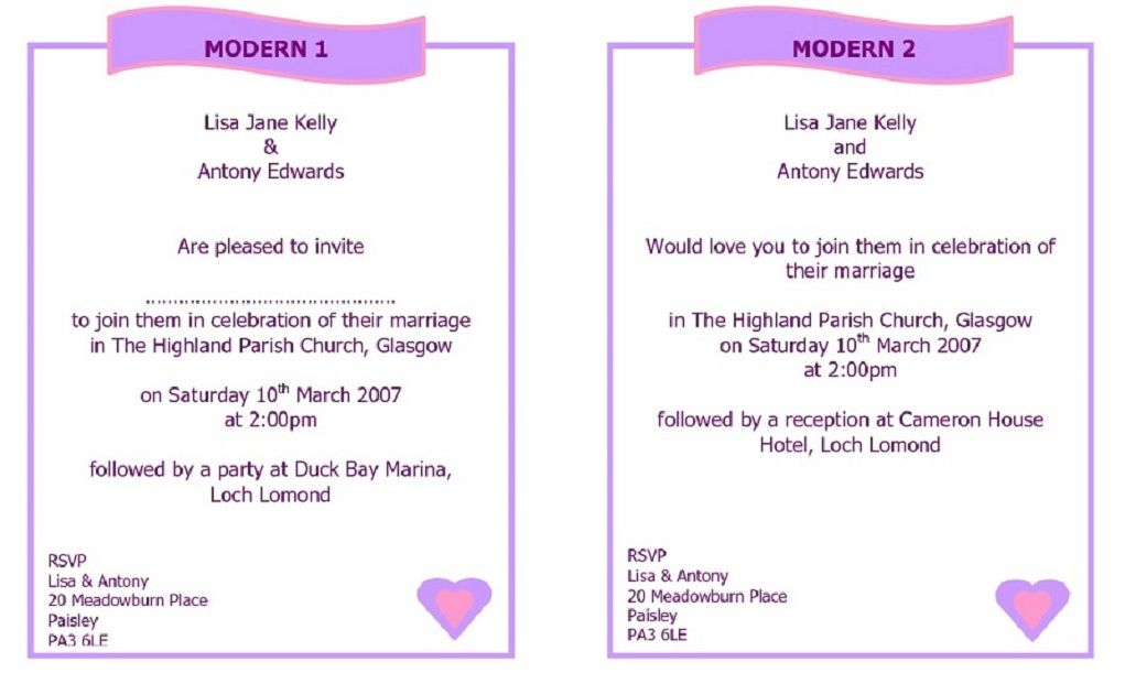 Best Wedding Invitation Wording Samples Modern Wedding Card - best of wedding invitation samples text