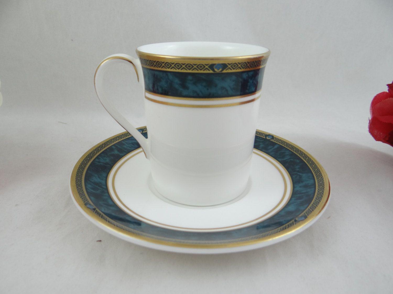 Vintage Minton Biltmore English Bone China Cappuccino Demitasse Teacup and Saucer set