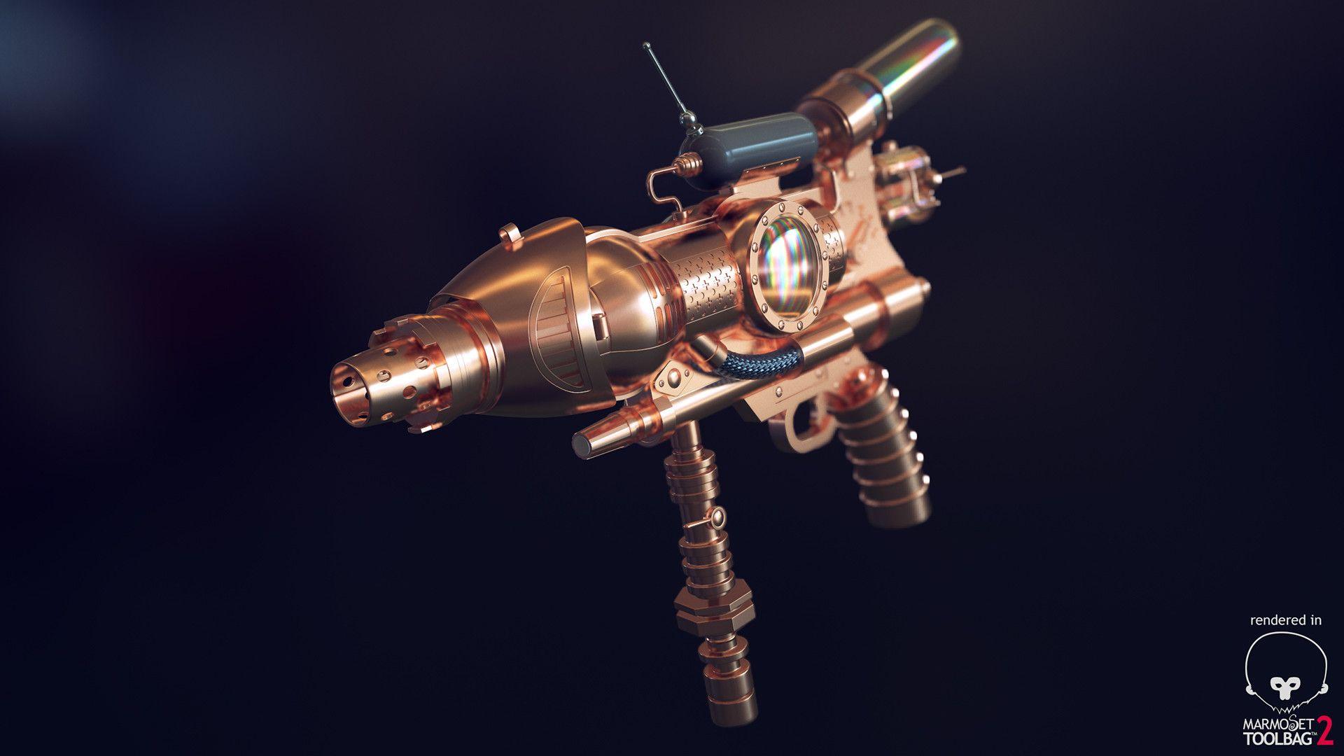 steampunk guns   Steampunk Gun WIP - Imgur