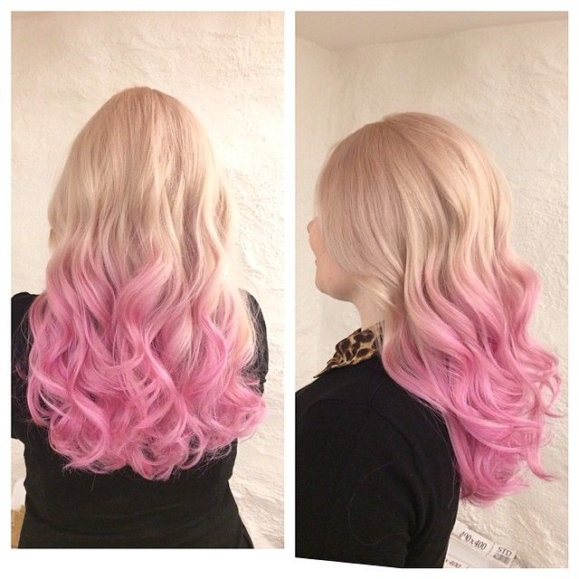Candylicious Barbie Babe Hair Colors Ideas Pink Blonde Hair Pink Ombre Hair Blonde To Pink Ombre