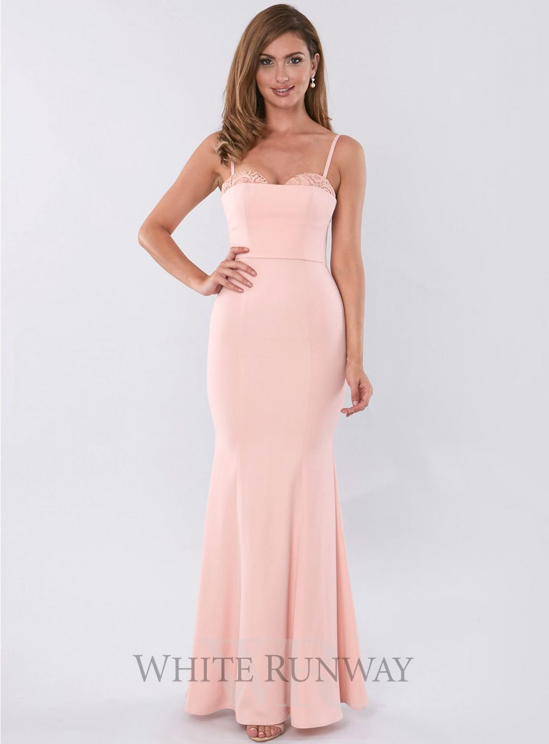 Maya Dress. A stunning full length dress by Love Honor. A flattering ...