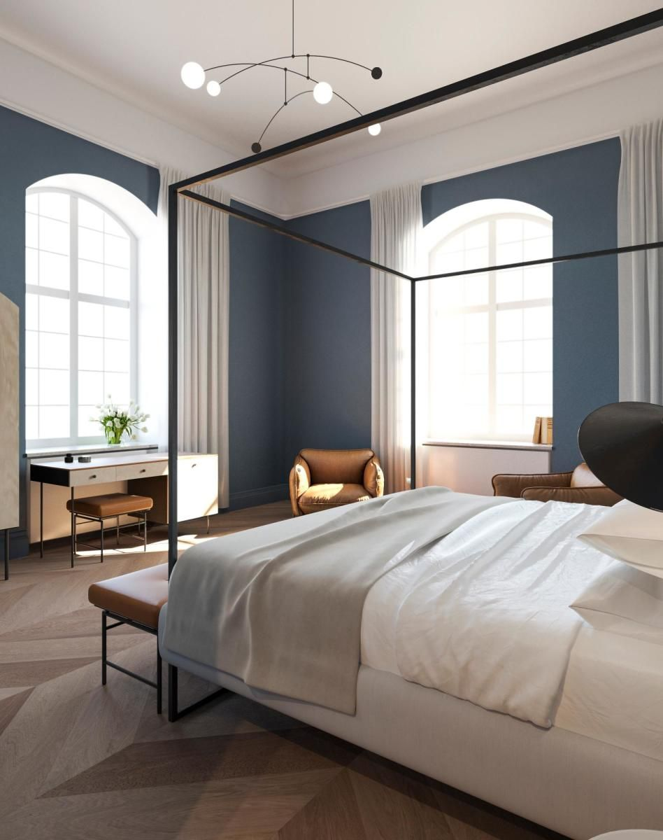 Hotel Room Design: The Royal Danish Conservatory Of Music Was Converted Into