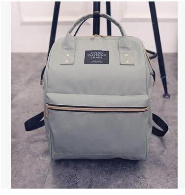 Dida Bear Fashion Women Backpacks Female Denim School Bag For Teenagers  Girls Travel Rucksack Kanken Space 7af9f181eaaed