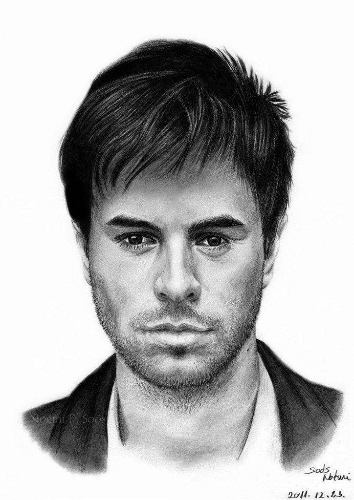 Enrique Iglesias By Sosinonoo On Deviantart Enrique Iglesias Drawing Tutorials For Beginners Iglesias