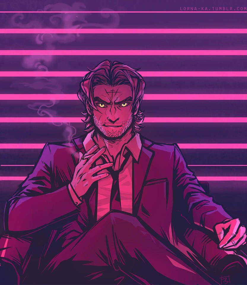 Mr Wolf By Https Www Deviantart Com Lorna Ka On Deviantart The Wolf Among Us Anime Wolf Mister Wolf