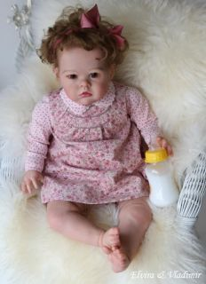 Elvira Vladimir Nursery Reborn Baby Girl Sharlamae by ...