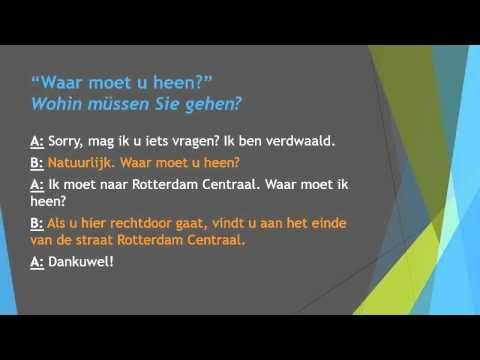 Niederländisch Sprechen