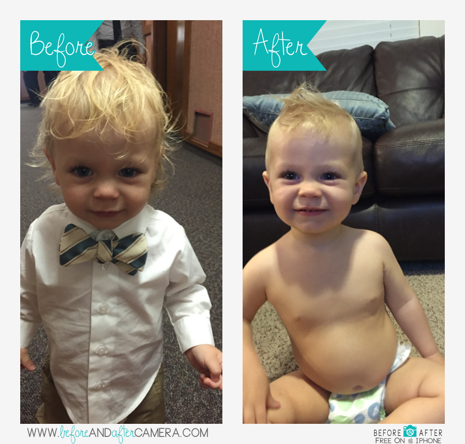 Jonesys First Haircut Posted From Before And After Camera For