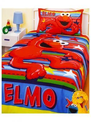 Genial Elmo Bedding Quilt Cover Set Stars