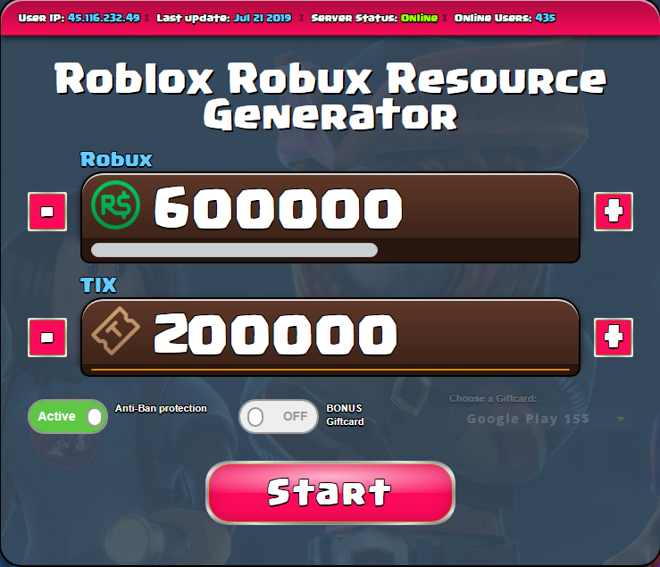 Roblox Robux Hack Device Unlimited Free Robux Generator Android