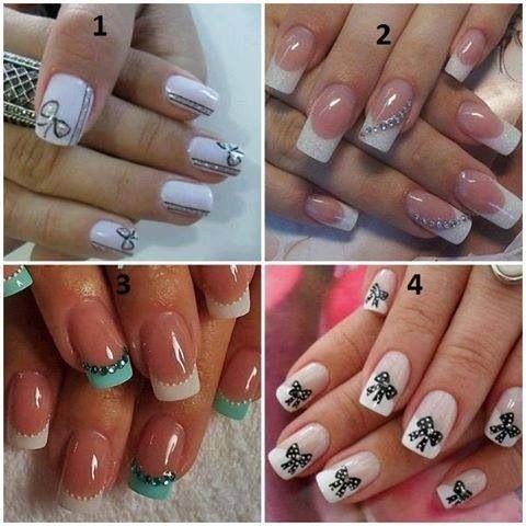 manicures  nail jewels cute nails cute nail art