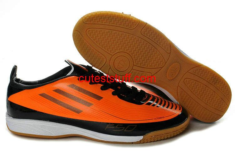 I just like this Adidas F50 Adizero Prime TRX IC Indoor Soccer Shoes Orange  Black