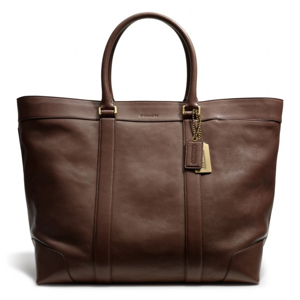52c1eb450d The Bleecker Legacy Weekend Tote In Leather from Coach - desperately ...