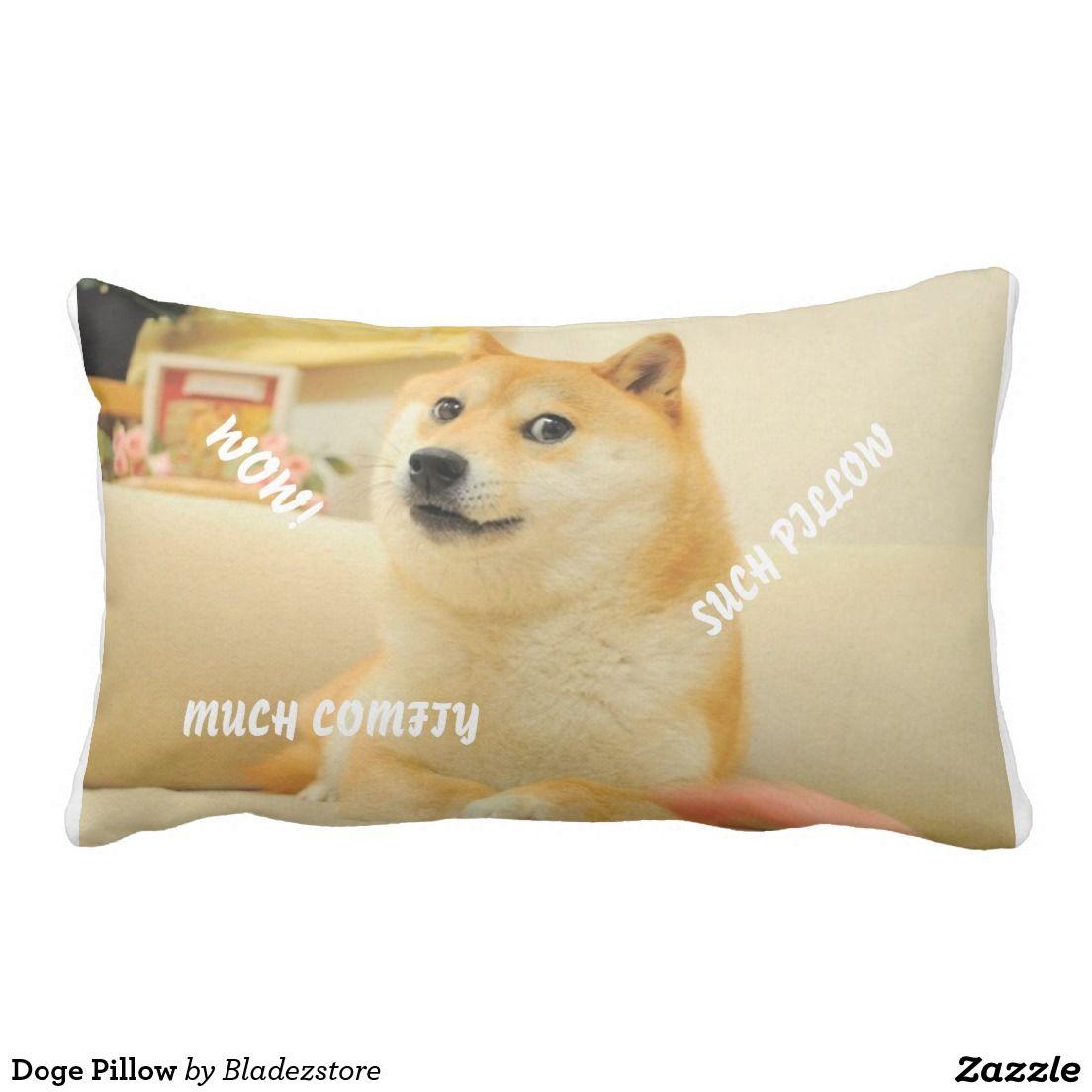 Doge Pillow | Zazzle com | Lumbar Pillows | Doge, Pillows