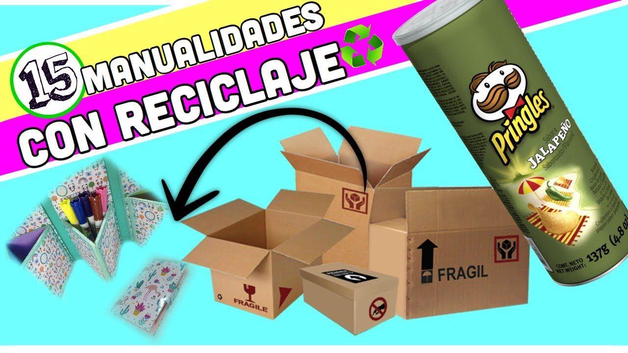 Manualidades reciclaje 15 Manualidades con reciclaje Colaboracin
