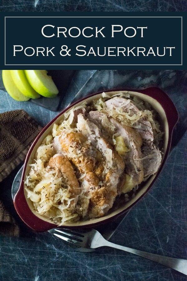 Crock Pot Pork and Sauerkraut - Fox Valley Foodie