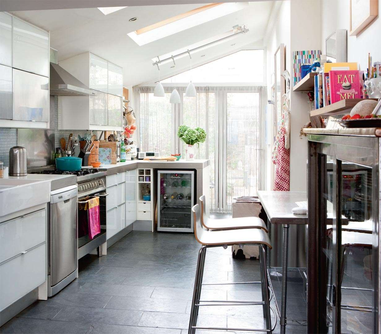 Victorian maisonette transformation | Real Homes, using side return ...