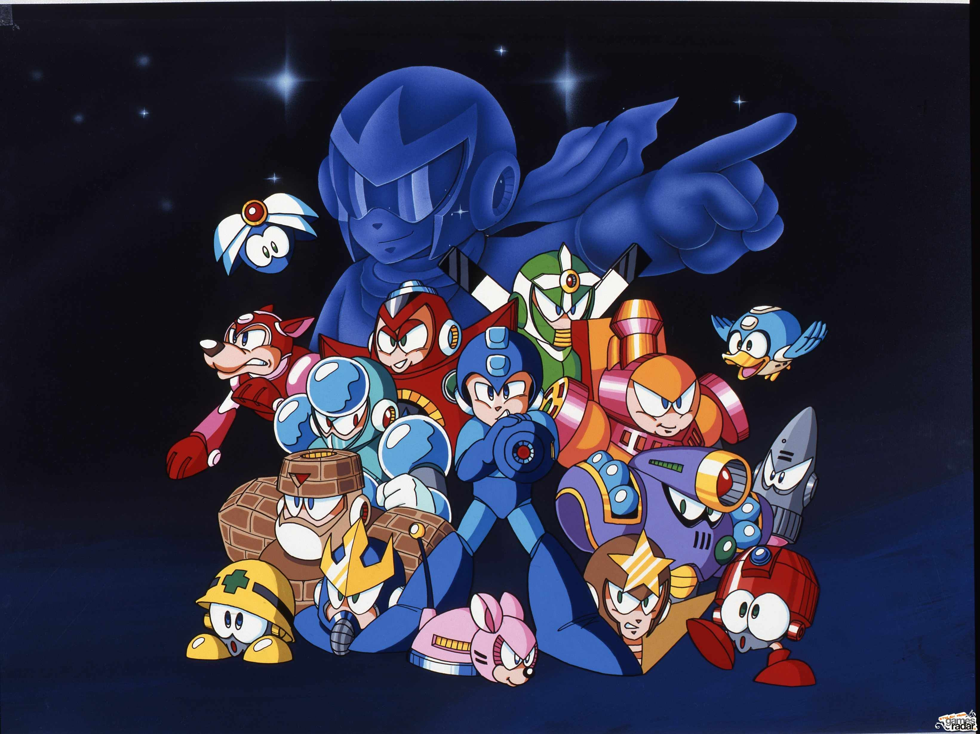 Wallpaper For The Main Characters Of Mega Man 5 Nes Mega Man Mega Man 5 Mega Man 9