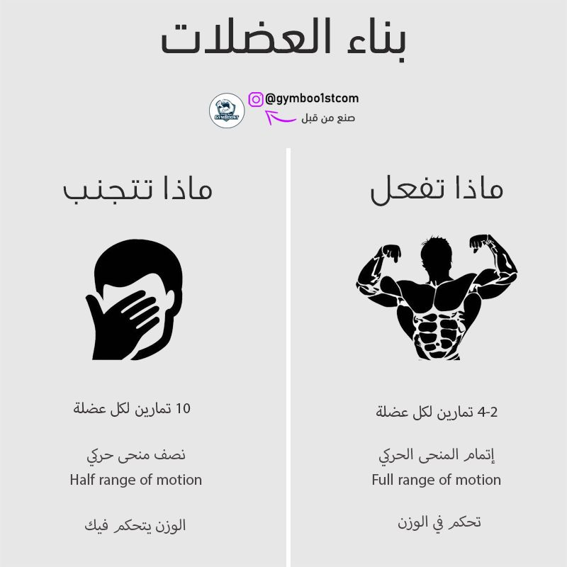 بناء العضلات Health And Fitness Magazine Workout Food Exercise