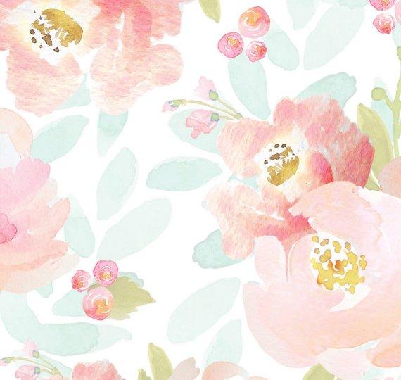 bda8518dc Girls Crib Bedding Blush Mint Boho Changing Pad Covers / Bohemian Floral  Nursery Baby Bedding /Mini