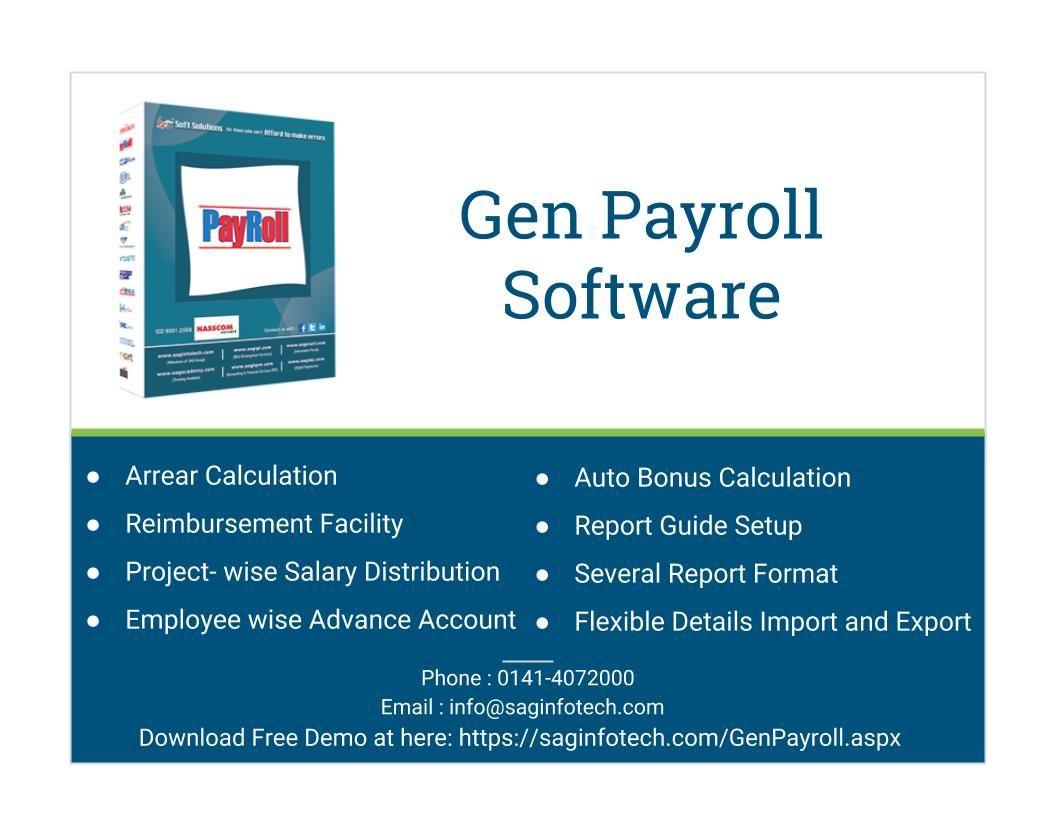 Gen Payroll Software Full Version Free Download In India Payroll Software Payroll Employee Management