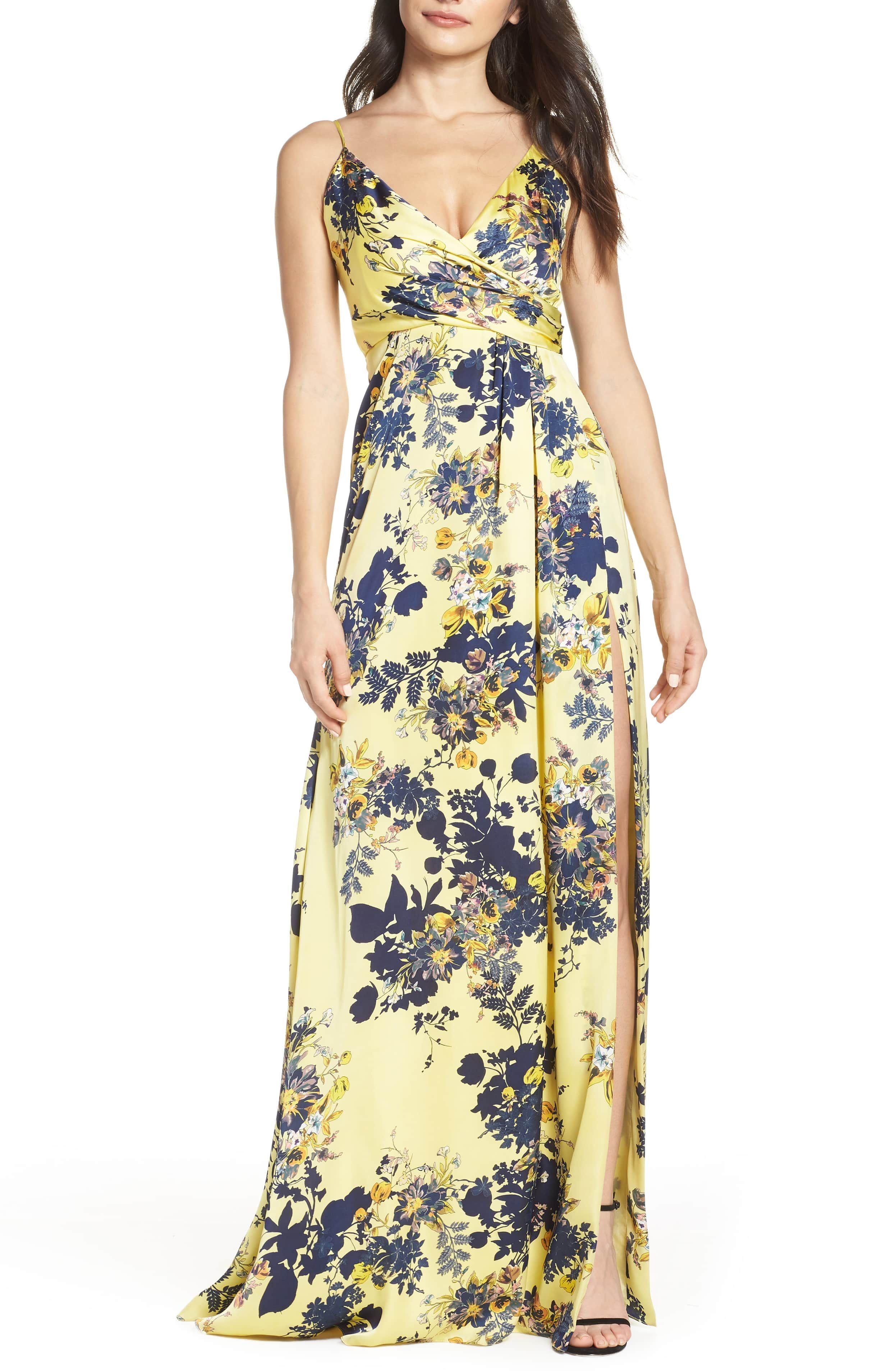 8f62c92b Jill Jill Stuart Floral Maxi Dress | Nordstrom | Beach Wedding in ...