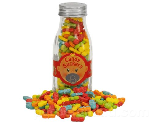 BOTTLE OF CANDY SUCKERS