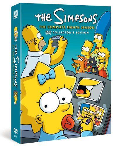 The Simpsons Season 8 Dvd Amazon Co Uk Dan Castellaneta Julie Kavner Nancy Cartwright Yeardley Smith Harry Shea The Simpsons Simpson Dan Castellaneta
