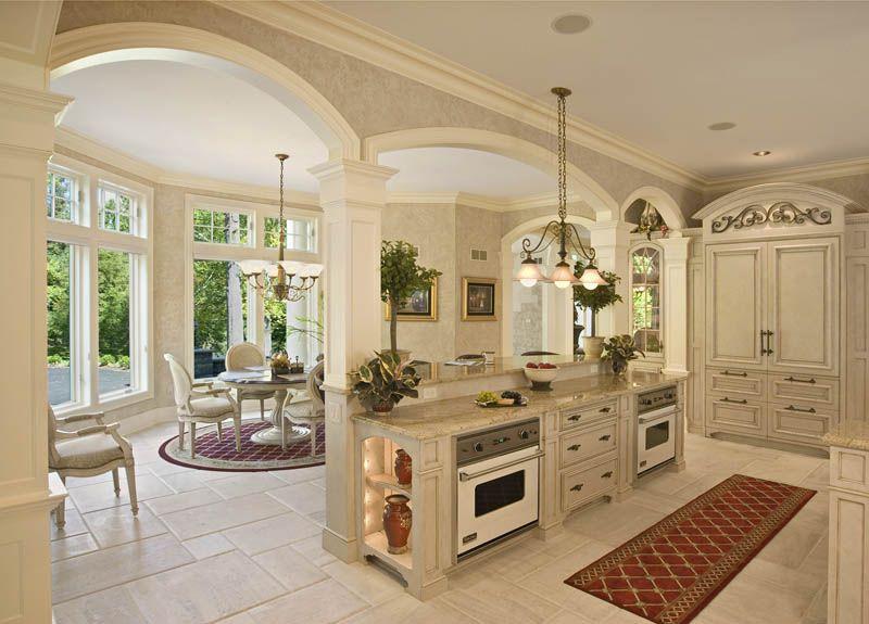 French Colonial Kitchen Colonial Craft Kitchens Inc Custom Kitchens Design Kitchen Island Ideas With Columns Mediterranean Kitchen Design