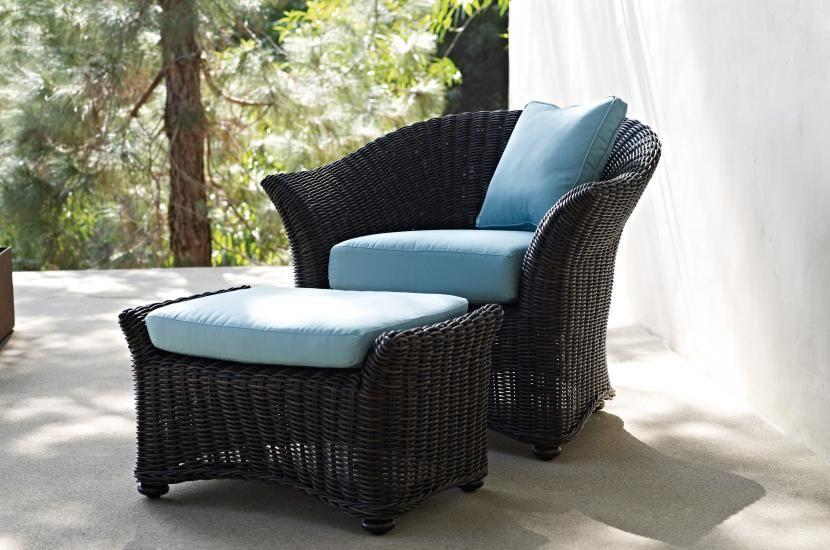 Beaufort Armchair & Ottoman   Gloster Furniture