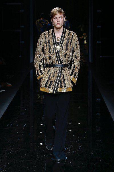 Balmain Fall-winter 2017-2018 - Menswear