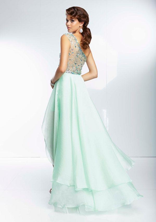 Prom Dress From Paparazzi By Mori Lee Dress Style 95054 Orangza Hi ...