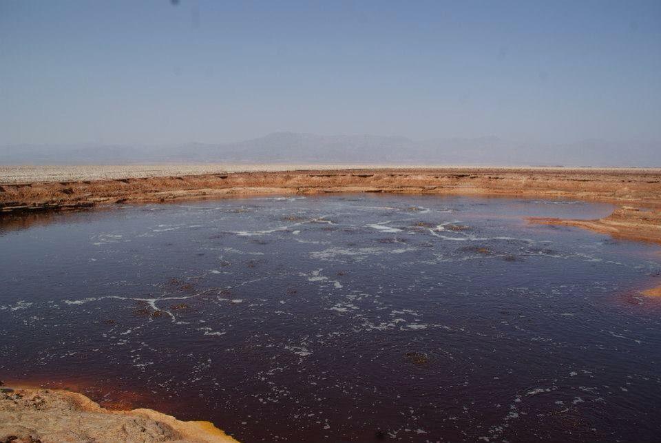 Danakil depression - north of Ethiopia
