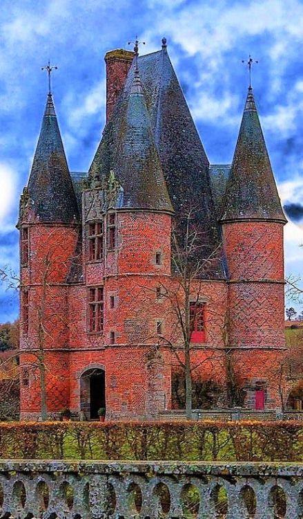 Castle of Carrouges in Orne, France  x wonderhome