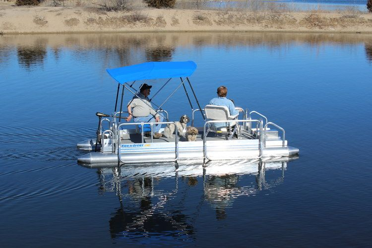 Fish N Sport — Hotwoods in 2020 Pontoon boat, Small