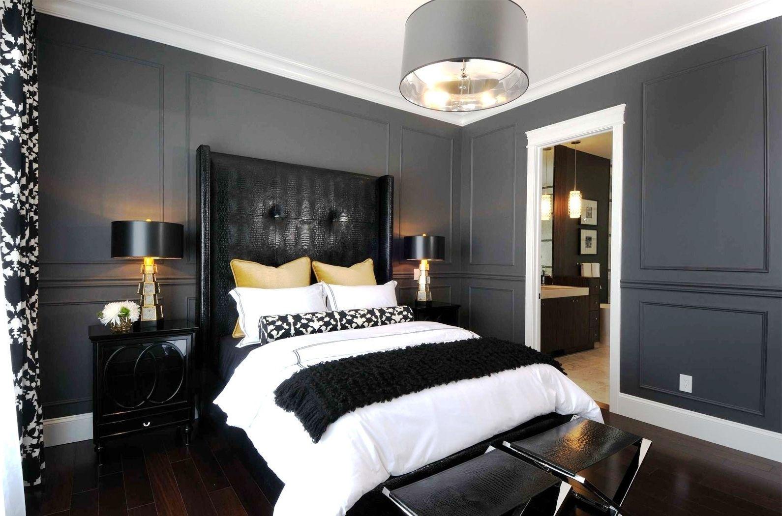 10 Modern Black And White Master Bedroom For Your Room Black