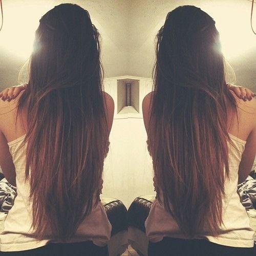 Best 25 Brown Straight Hair Ideas On Pinterest Hair Colours 2016 Brown Hair Vs Blonde And