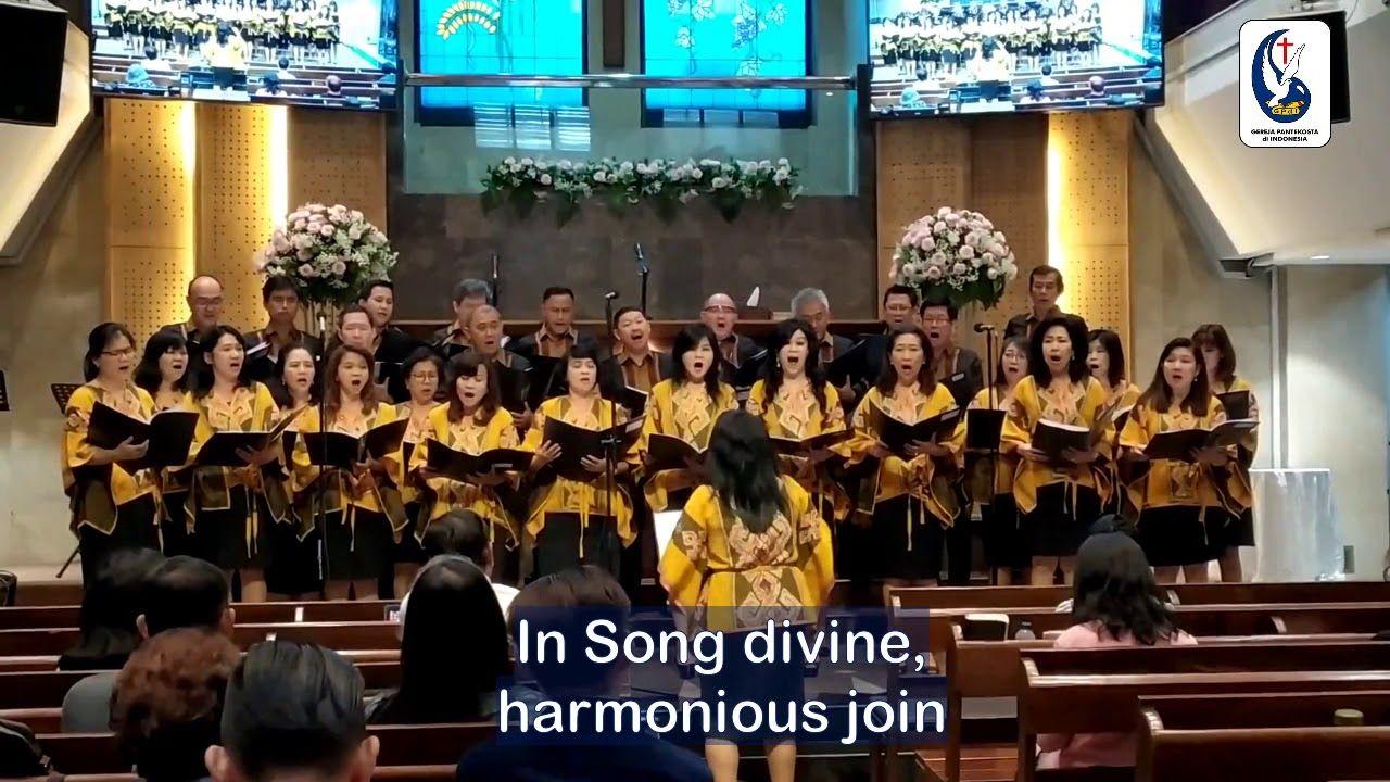 Lagu Halelujah Amen Dinyanyikan Lagi Oleh Paduan Suara Gpdi Ketapang Pada Kebaktian 3 Tanggal 21 Juli 2019 Paduan Suara Lagu Bernyanyi