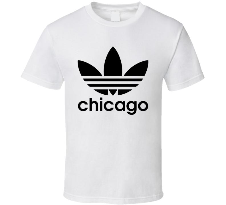 Chicago Best City Adidas Logo T Shirt
