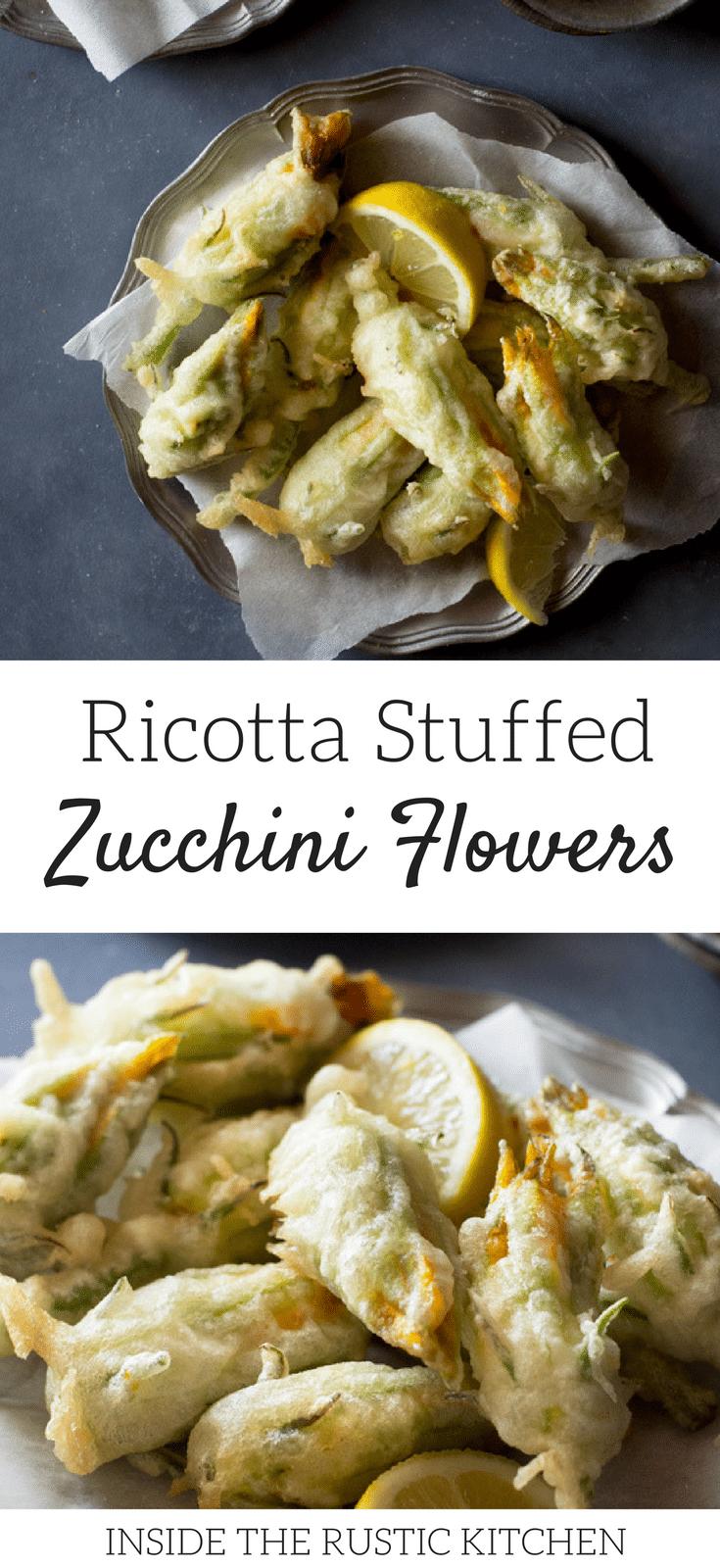 Photo of Ricotta Stuffed Zucchini Flowers