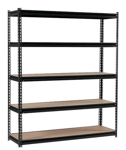 Etonnant 5 Shelf Steel Shelving Unit At Menards Also Here  Http://www.globalindustrial.com/g/storage/shelving /boltless/high Boltless Steel Shelving Wood Deck