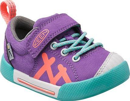 Keen Encanto Sneaker Shoe (Toddler), Purple Heart/Fusion Coral, 4 M US Toddler