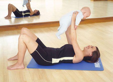 los mejores ejercicios para bajar de peso despues del embarazo