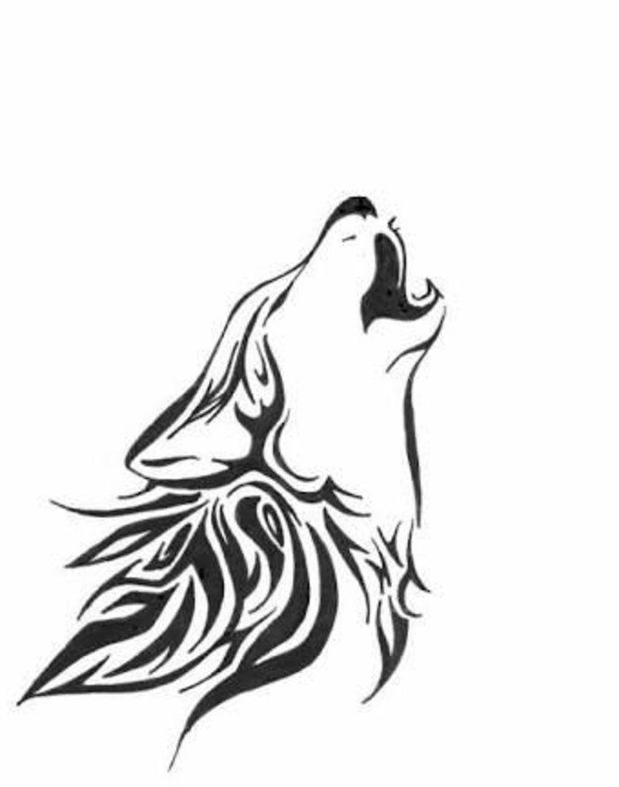1001 Ideen Fur Einen Tollen Wolf Tattoo Die Ihnen Sehr Gut Gefallen Konnten Keltischer Wolf Tattoo Wolf Tattoos Wolf Tattoo Ideen
